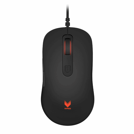 VPRO Mouse Gaming V16 Optisk Svart