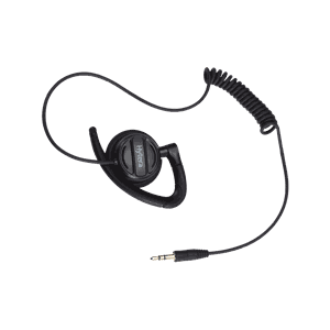 Receive-Only Swivel Earpiece with 3.5mm jack plug