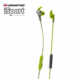 Monster® iSport Intensity In-Ear Wireless Headphones Green