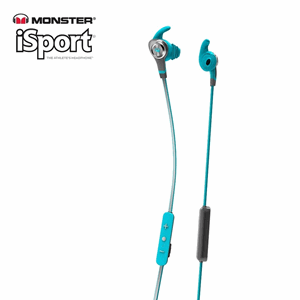 Monster® iSport Intensity In-Ear Bluetooth Headphones blue