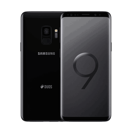 Samsung Galaxy S9, Android, G960, Midnight Black