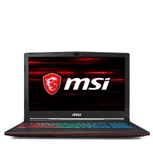 "MSI GP63 15.6"" Full HD matt"