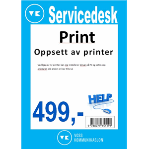 Klargjering av printer