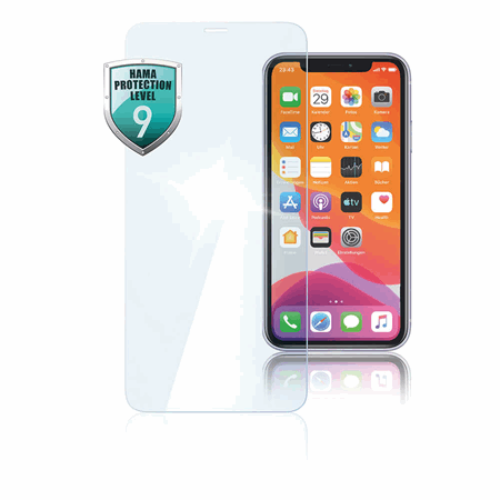 HAMA Härdat Glas Full Cover iPhone 12 Pro Max