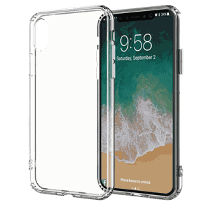 Puro iPhone XR, Clear deksel, transparent