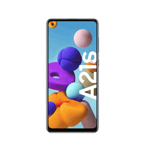 Samsung Galaxy A21s 32GB, Sort